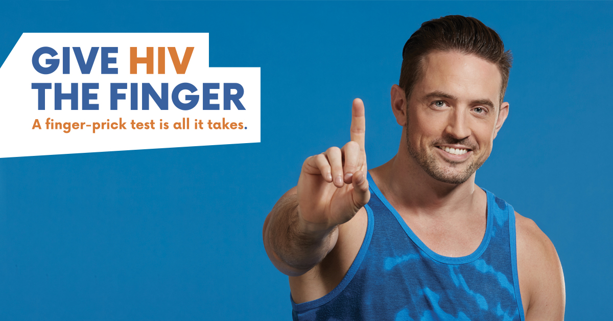 NHTW - Give HIV the Finger - Paul