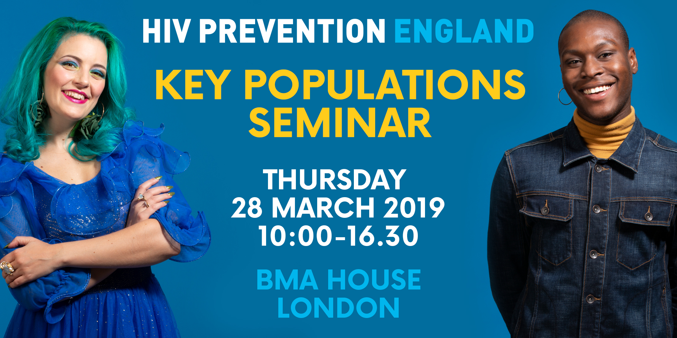 Key Populations seminar, Thursday 28 March 2019, 10-4.30, BMA House, London