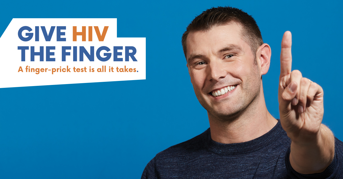 Give HIV the Finger - Andrew