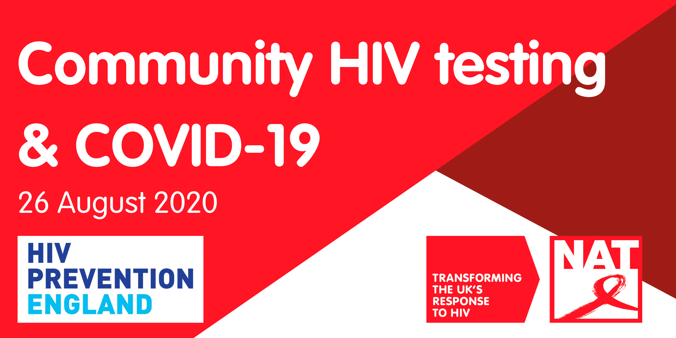 Community HIV testing and COVID-19